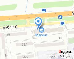 Компания КРАСКА-33 на карте города