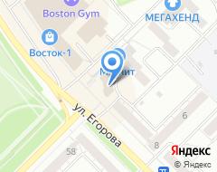 Компания Домашний PROект на карте города