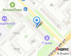 Компания АГЕНТСТВО НЕДВИЖИМОСТИ КРИСТАЛЛ на карте города