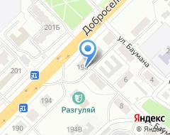 Компания Модус-1 на карте города