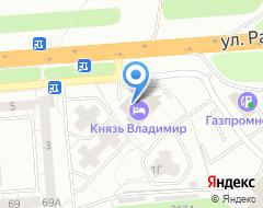Компания Вис на карте города