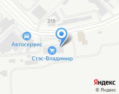 Компания СТЭС-Владимир, ЗАО на карте города