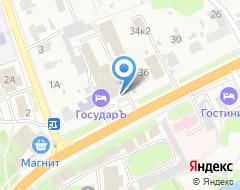 Компания Роспечать на карте города