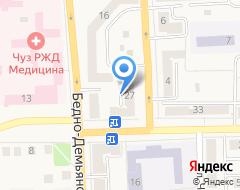 Компания Центр.RU на карте города
