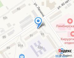Компания Продукты на карте города