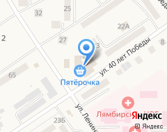 Компания Пятерочка на карте города