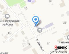 Компания Лямбирская средняя общеобразовательная школа №1 на карте города