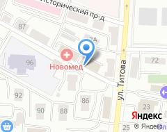 Компания Московские окна на карте города