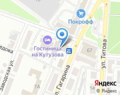 Компания Бригадир на карте города