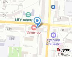 Компания Эгида на карте города