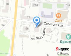 Компания Алюминстрой на карте города