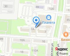 Компания ANEX Tour на карте города