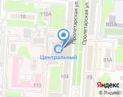 Компания ЭкспрессДеньги на карте города
