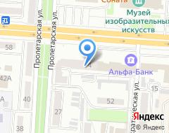 Компания Сарансктехприбор на карте города