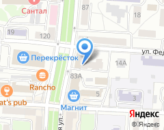 Компания Profi center на карте города