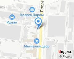 Компания Стройресурс на карте города