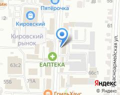 Компания ЮРИК на карте города