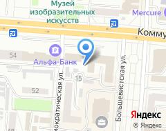 Компания УниверсФинАудит на карте города