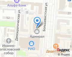 Компания Строящееся административное здание по ул. Советская на карте города