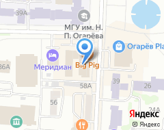 Компания Росгосстрах-Мордовия, СОАО на карте города