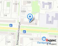 Компания СТРОЕКТИКА на карте города