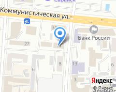 Компания Банк Возрождение, ПАО на карте города