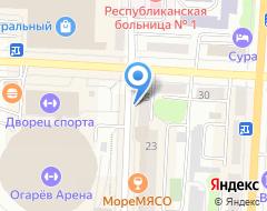 Компания Мир обоев на карте города