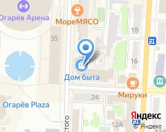 Компания ОРАНТА на карте города