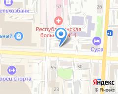 Компания КБ Агросоюз на карте города