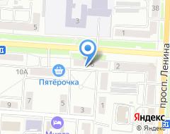 Компания Мирта-Строй на карте города
