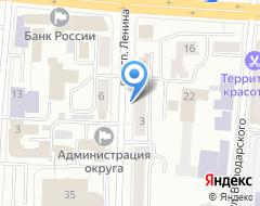 Компания Вентстроймонтаж на карте города