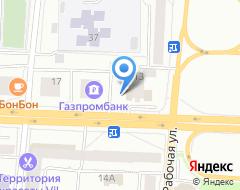 Компания Магма на карте города