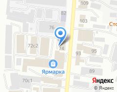 Компания Новионикс на карте города