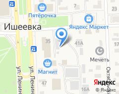 Компания Киоск по продаже рыбы на карте города