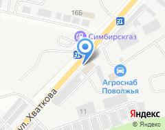 Компания Ульяновск-Автомост на карте города