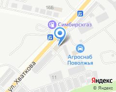 Компания СТРОЙСТАНДАРТ на карте города