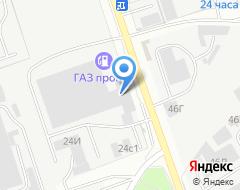 Компания ГИНЗА на карте города