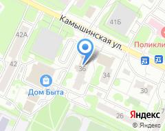 Компания Арт Ландшафт на карте города