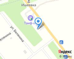 Компания АЗС Tatneft на карте города