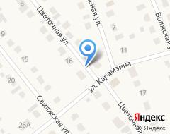 Компания Продовольственный магазин на карте города
