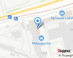 Компания ПРОМ-КОМПЛЕКТ на карте города