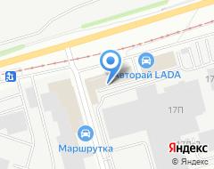 Компания Прометей на карте города