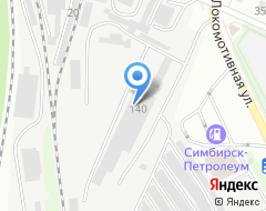 Компания Плитка73.ru на карте города