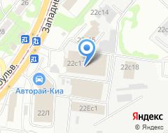 Компания ИНЗА СЕРВИС на карте города