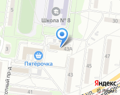 Компания Два Дюйма на карте города