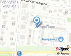 Компания Nordпарк на карте города