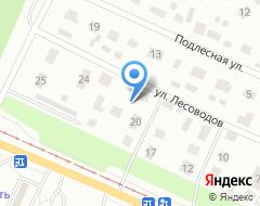 Компания Форсаж-М на карте города