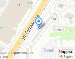 Компания ТАИС на карте города