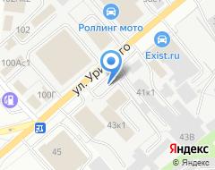 Компания Сильвия на карте города