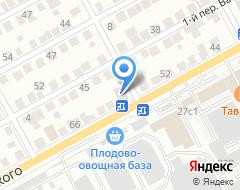 Компания Ресурс трейд на карте города